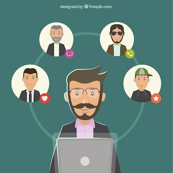 Videoconferencia de negocios