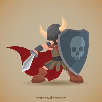 Vikingo ilustración