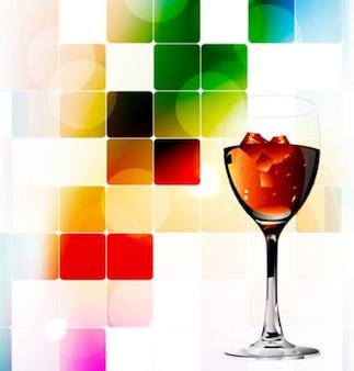 vino tinto de fondo abstracto salpicaduras