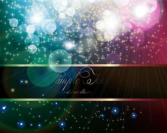 Violeta noche norteño azul astral