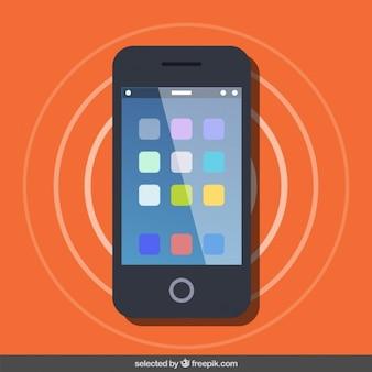 Vista de pantalla Smartphone