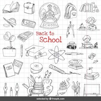 Volver a iconos de la escuela set