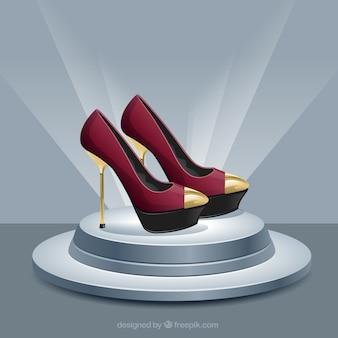 Zapatos de tacón de moda