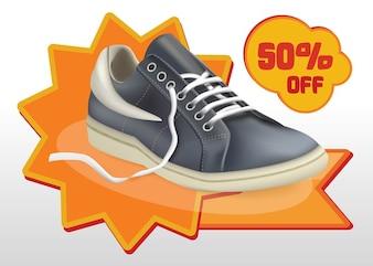Zapatos vector venta