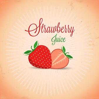 Jugo de fresa fotos y vectores gratis - Como hacer zumo de fresa ...