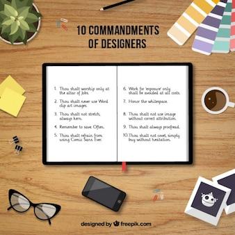 10 Gebote von Designern