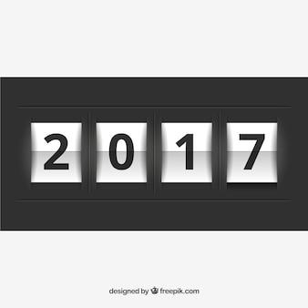 2017 neue Jahr Zähler