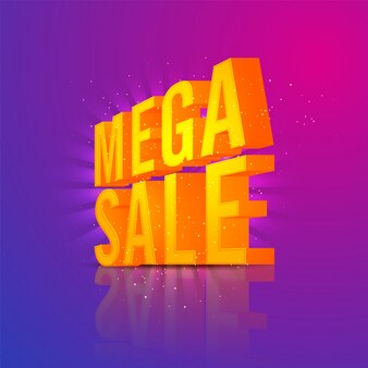 3D Goldener Text Mega Verkauf.
