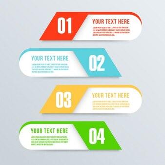 4 Banner Option Template-Design