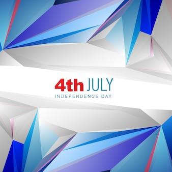 4. von Juli-amerikanischen Unabhängigkeitstag Hintergrund