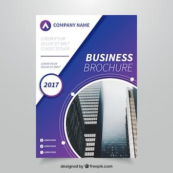 Abstract Business Broschüre Vorlage