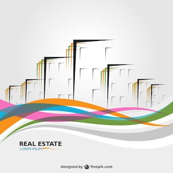Abstract business Gebäude vector