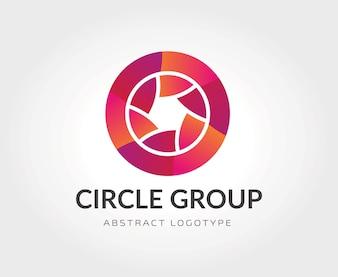 Abstract vector logo Vorlage für Branding und Design