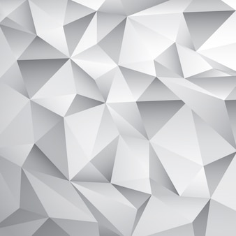 Abstract White Poly Hintergrund