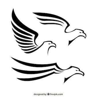 Abstrakt Adler