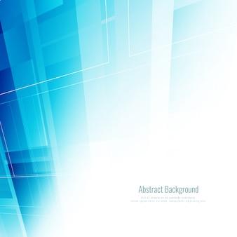 Abstrakt blau geometrischen Hintergrund