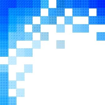 Abstrakt blau Mosaik Hintergrund