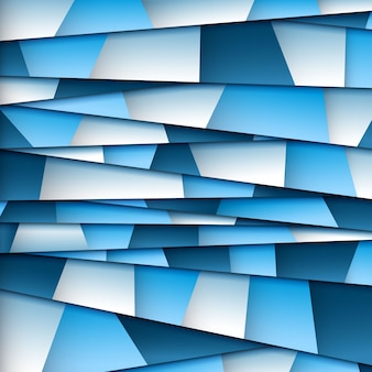 Abstrakt blau Papier Hintergrund