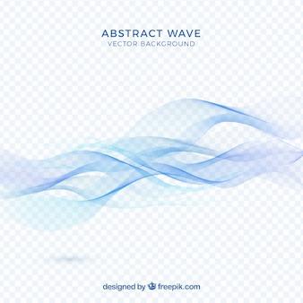 Abstrakt blau Welle Hintergrund