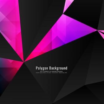 Abstrakt bunten modernen polygonalen Hintergrund