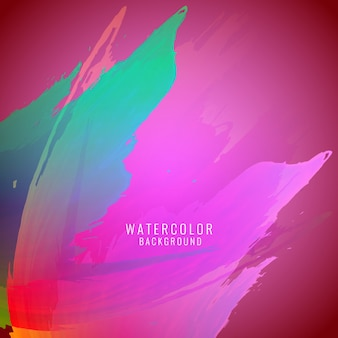 Abstrakt colorful Aquarell Hintergrund
