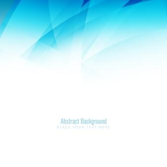 Abstrakt elegante blaue Welle Hintergrund