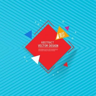 Abstrakt Geometrischer Hintergrund Design