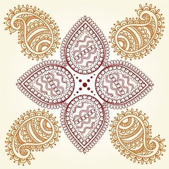 Abstrakt Hindu Ornament