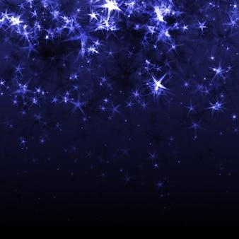 Abstrakt Hintergrund mit Sternen