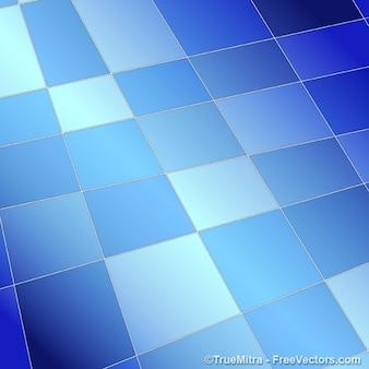 Abstrakte blaue Quadrate Hintergrund