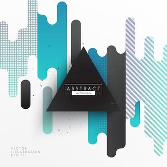 Abstrakte Form-Hintergrund-Design
