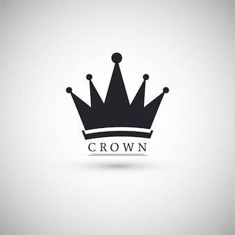 Abstrakte Krone Hintergrund