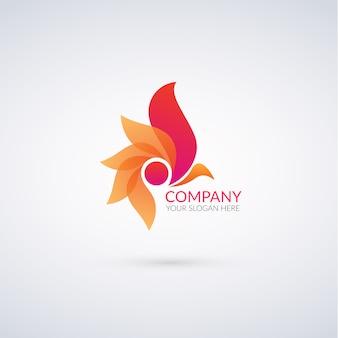 Abstrakte Logo-Vorlage