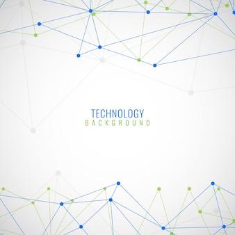 Abstrakte polygonale Technologie Hintergrund