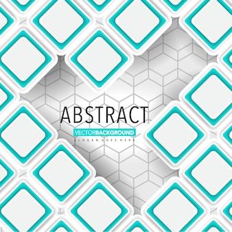 Abstrakte Vektor quadratischen Hintergrund