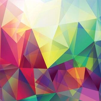 Abstrakter Dreieck Hintergrund