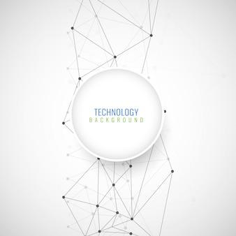 Abstrakter moderner technologischer Hintergrund