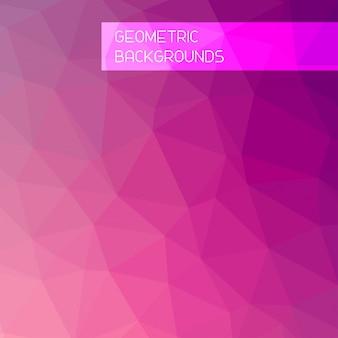 Abstrakter Mosaikhintergrund. Dreieck geometrischen Hintergrund. Design-Elemente. Vektor-Illustration. Gelb, Orange, rote Farben.