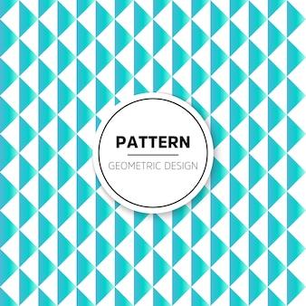 Abstraktes Muster Nahtlose Vektor Hintergrund Blaue und weiße Textur Grafische moderne Muster