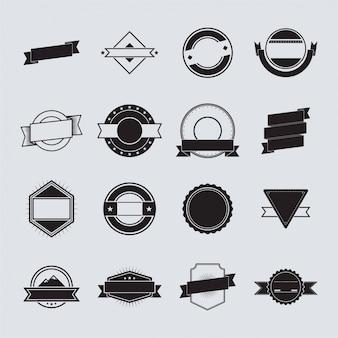 Abzeichen Logo Vorlage