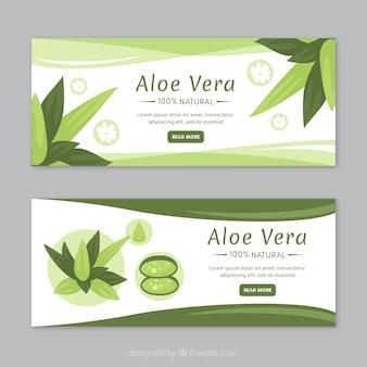 Aloe Vera Medizin Banner