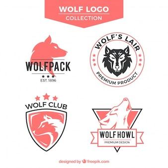 Alte Schule Wolf Logo Sammlung