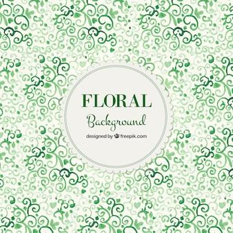 Aquarell-Blumenhintergrund