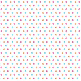 Aquarell Polka Muster
