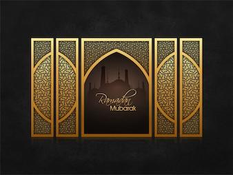 Arabische ramadan feier moschee ramdane