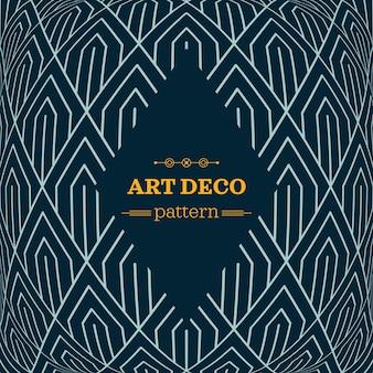 Art Deco Monochrom nahtlose arabische Schwarz-Weiß-Tapete oder Hintergrund mit Hipster-Label oder Abzeichen