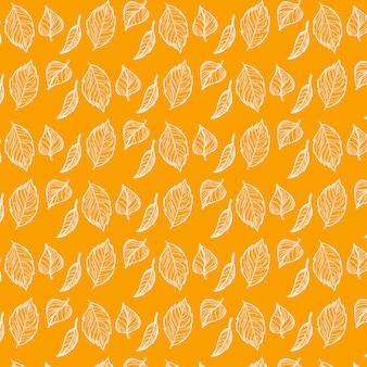 Autunm Blätter Muster