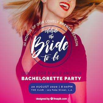 Bachelorette Party Einladung