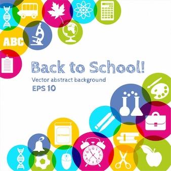 Back to school Hintergrund