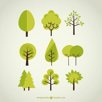 Bäume Sammlung